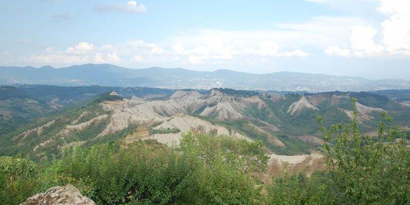 Valle dei calanchi di Civita di Bagnoregio