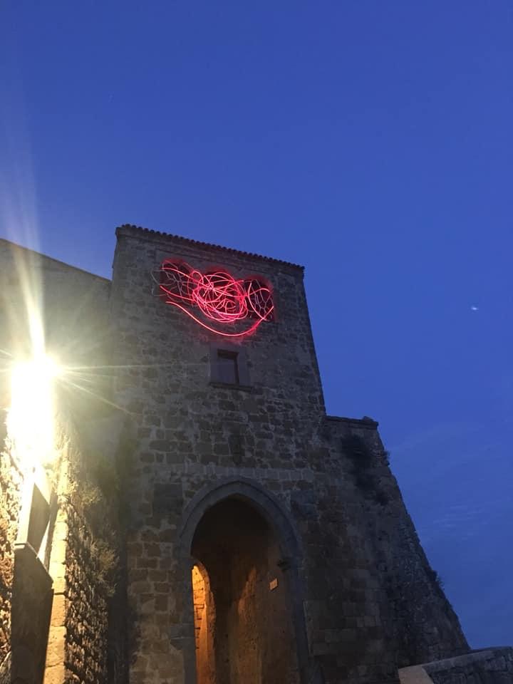 L'arte internazionale sulla porta di Civita di Bagnoregio