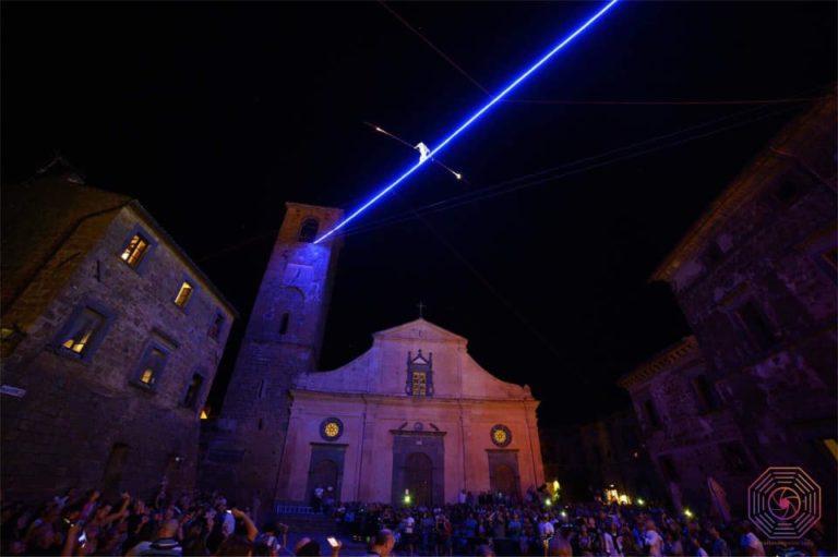 La Notte delle Luci di Civita di Bagnoregio conquista la televisione italiana